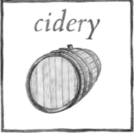 cidery button