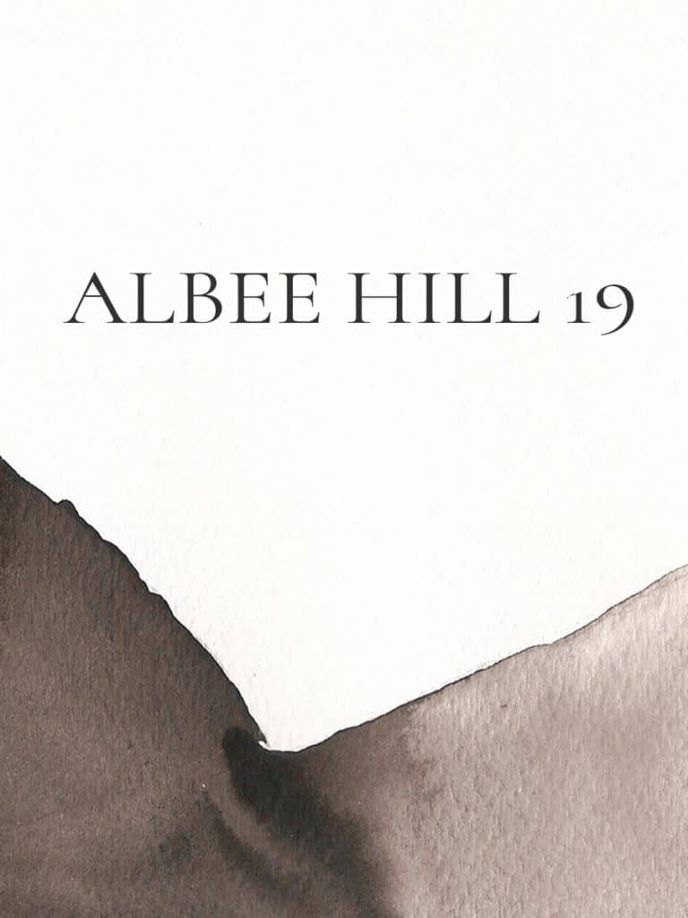 2019 Albee Hill Back